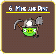 mine+and+dine Solucin de niveles en Angry Birds