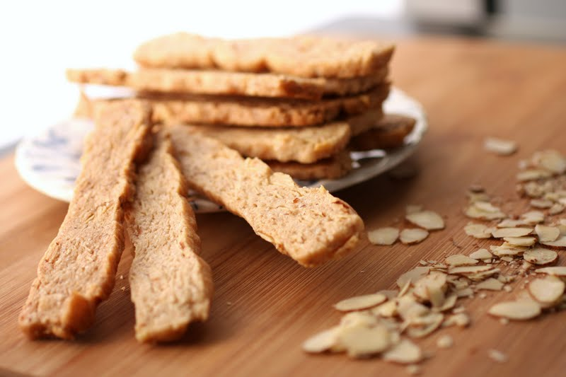 in the Hopeful Kitchen: Pain D'Amande: Italian Almond Cookies