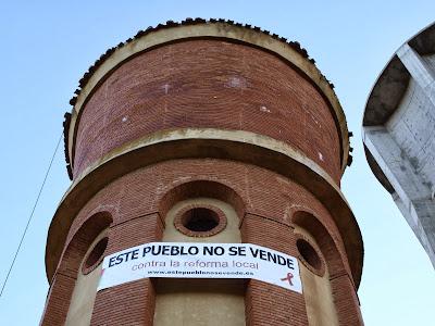 San Cebrían de Campos, este puebo no se vende, contra la reforma local