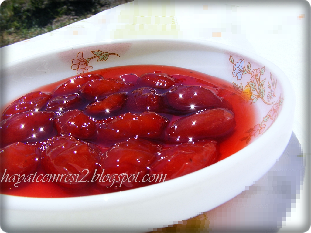 Kızılcık Marmelatı Yapımı
