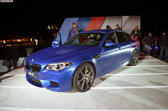BMW M5 in Frozen Blue