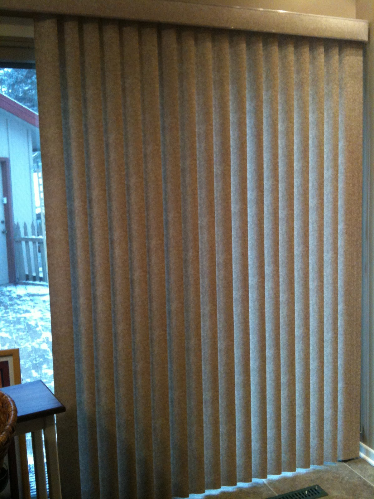 Widow writes can one paint hunter douglas vertical blinds motel 6 blinds before painting solutioingenieria Images