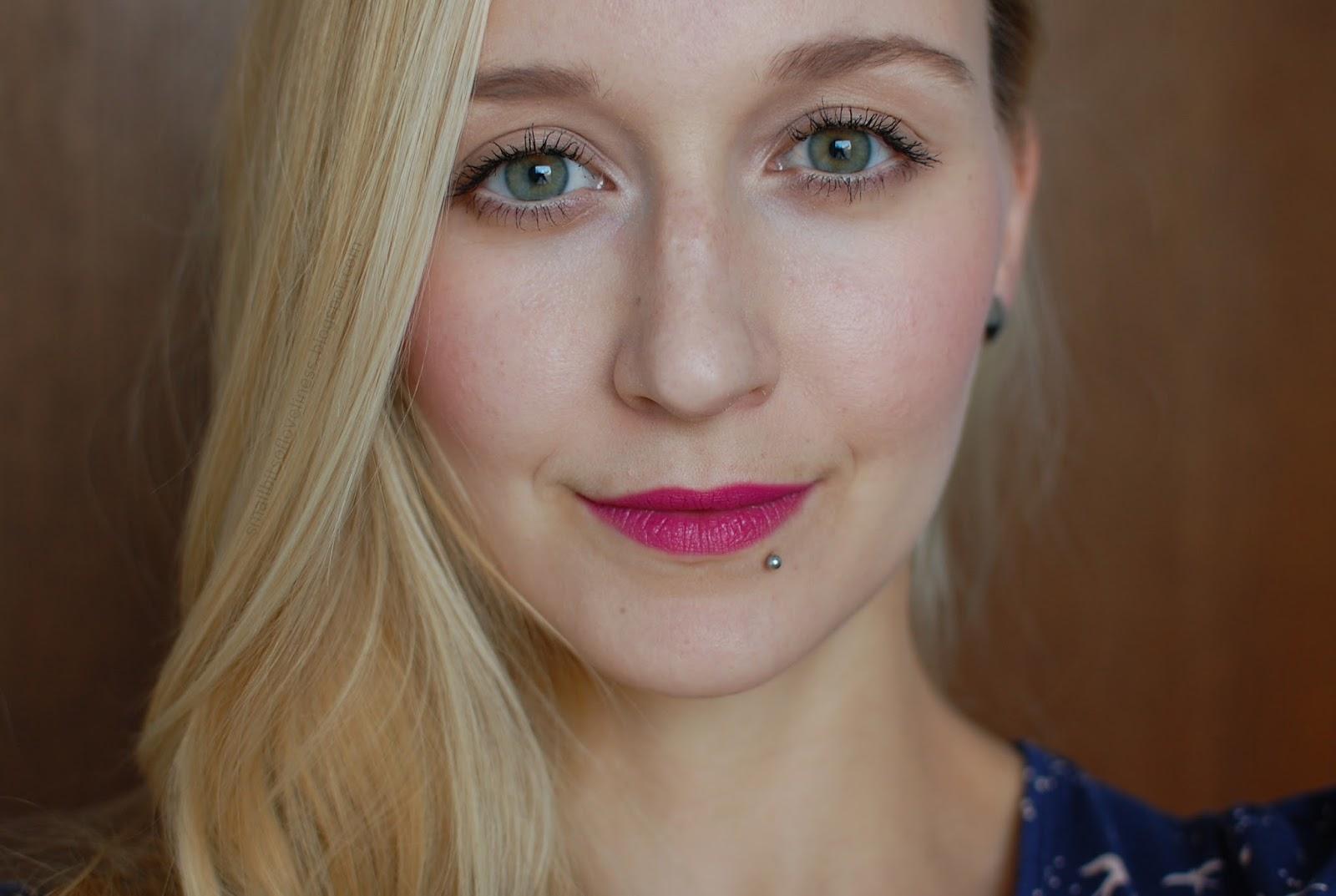Nudus Survivor Lipstick FOTD