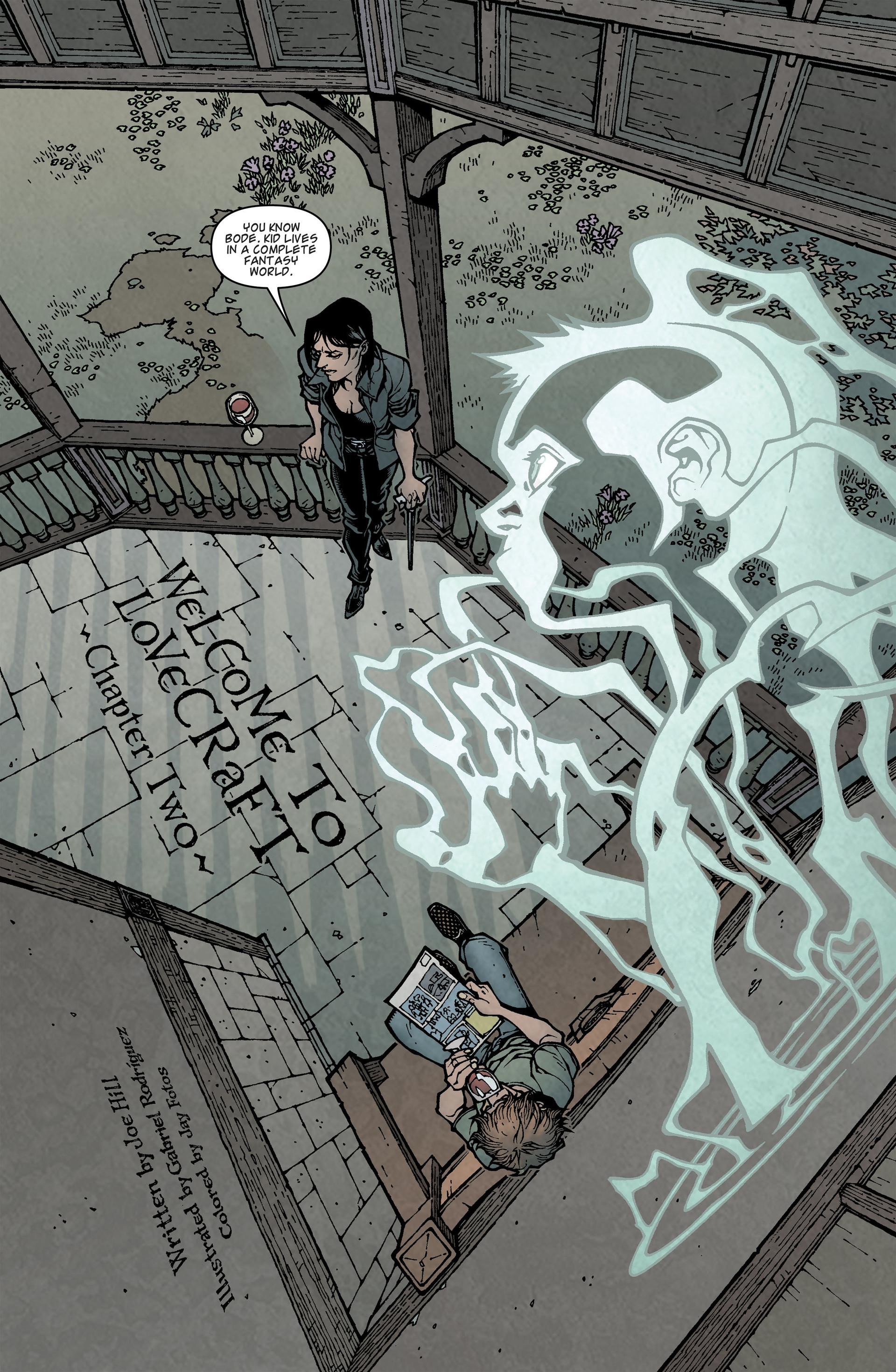 Locke & Key (2008) Issue #2 #2 - English 7
