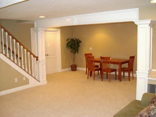 popular paint colors finished basements
