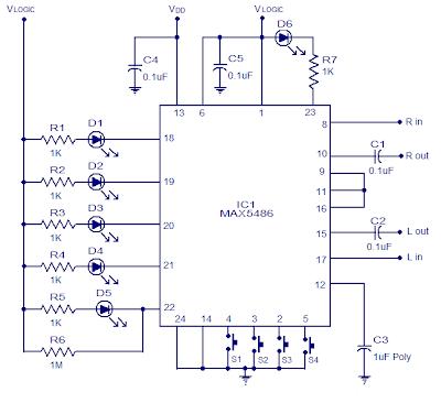 Digital Volume Control based IC MAX5486