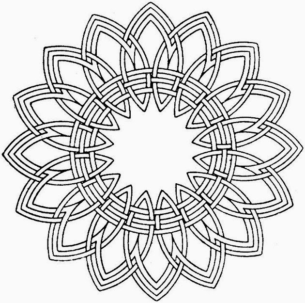 adult coloring pages mandala - printable coloring pages