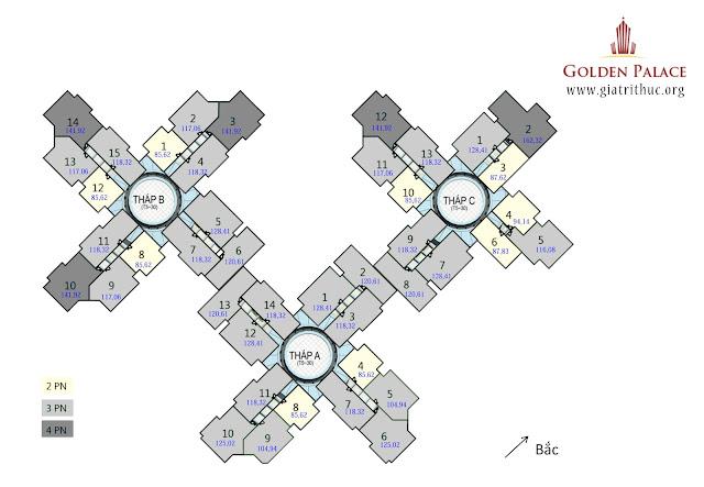 Căn Hộ Vip Nhất MỸ ĐÌNH Golden Palace 20 TM Sắp Cháy Hàng