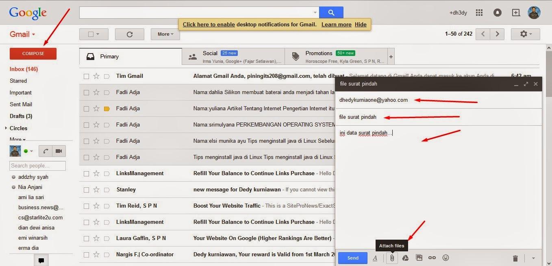 Cara Mudah Mengirim File lewat Email