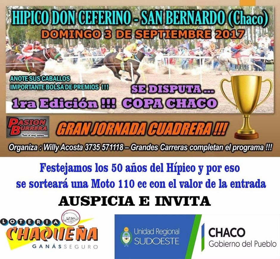 SAN BERNANDO - 3 SEP. - COPA CHACO