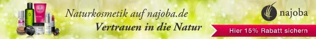 Najoba.de Naturkosmetik 15% Rabatt Code