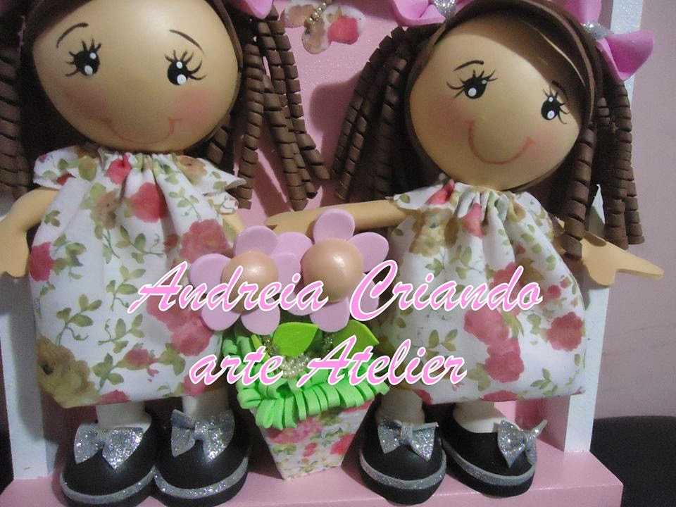 quadro porta de maternidade boneca fofucha
