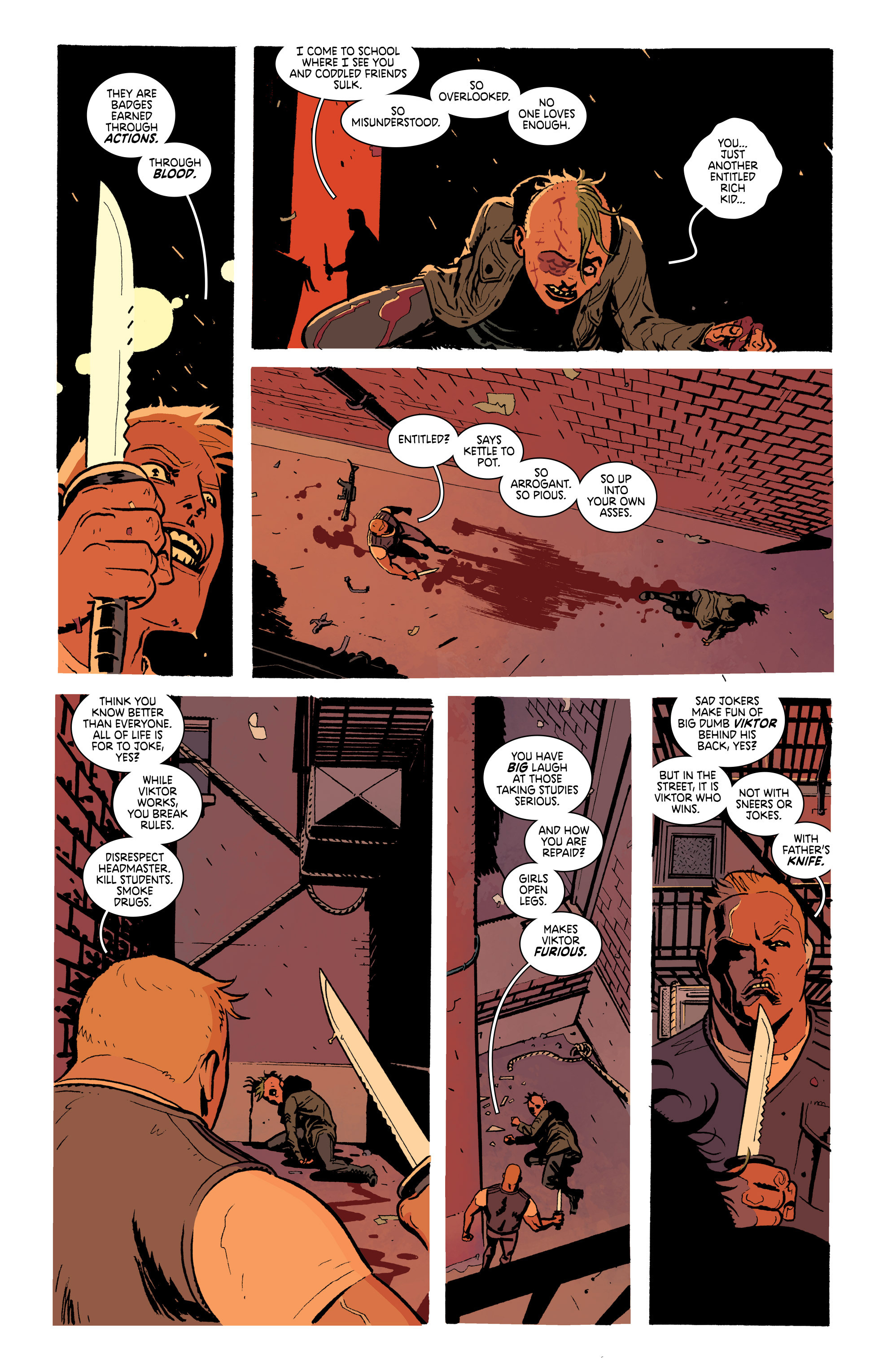 Read online Deadly Class comic -  Issue #19 - 14