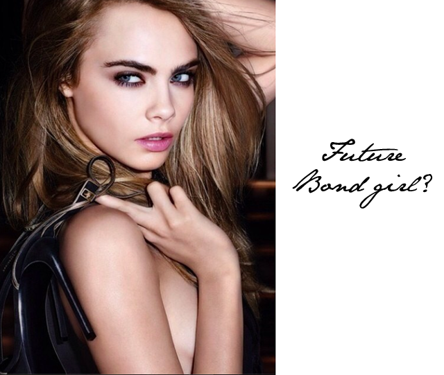 Cara Delevingne Bond Girl