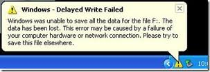 """Windows - Delayed Write Failed"" pada Windows"
