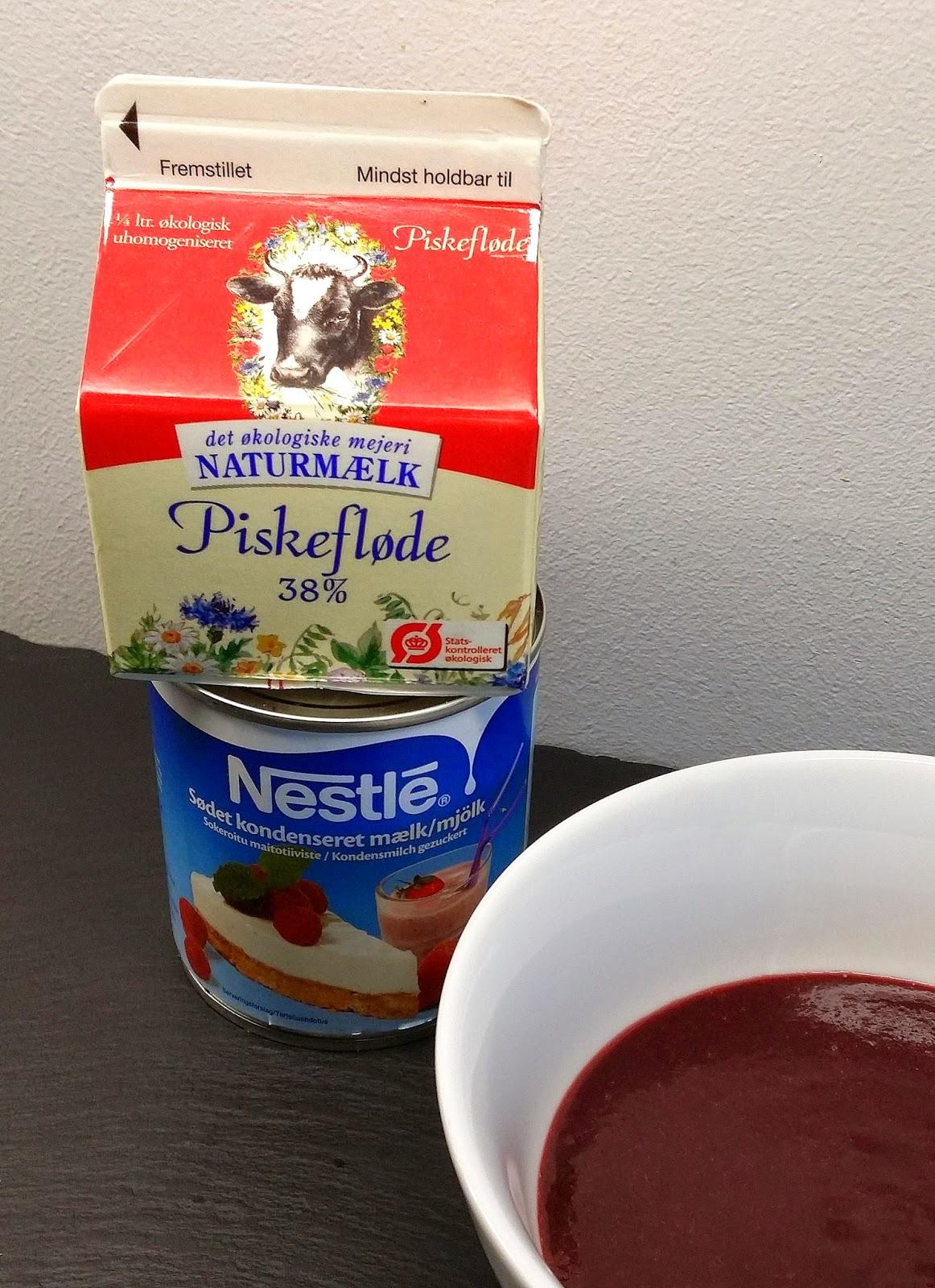ikke homogeniseret mælk