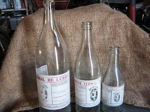 Vendo garrafas Luso