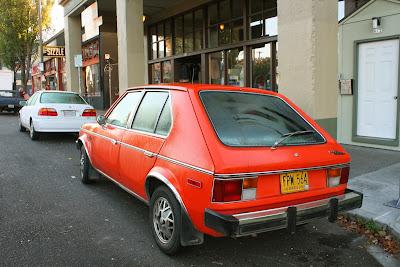 1978 Plymouth Horizon Hatchback.