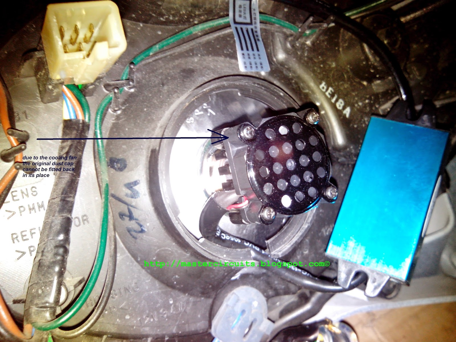 Info Manual Yamaha Mio Soul Led Headlight Conversion Ac Powered Flasher Installing The And Replacing Bulb Is By Using Supplied Connector Follow Procedure Within On How To Attach It