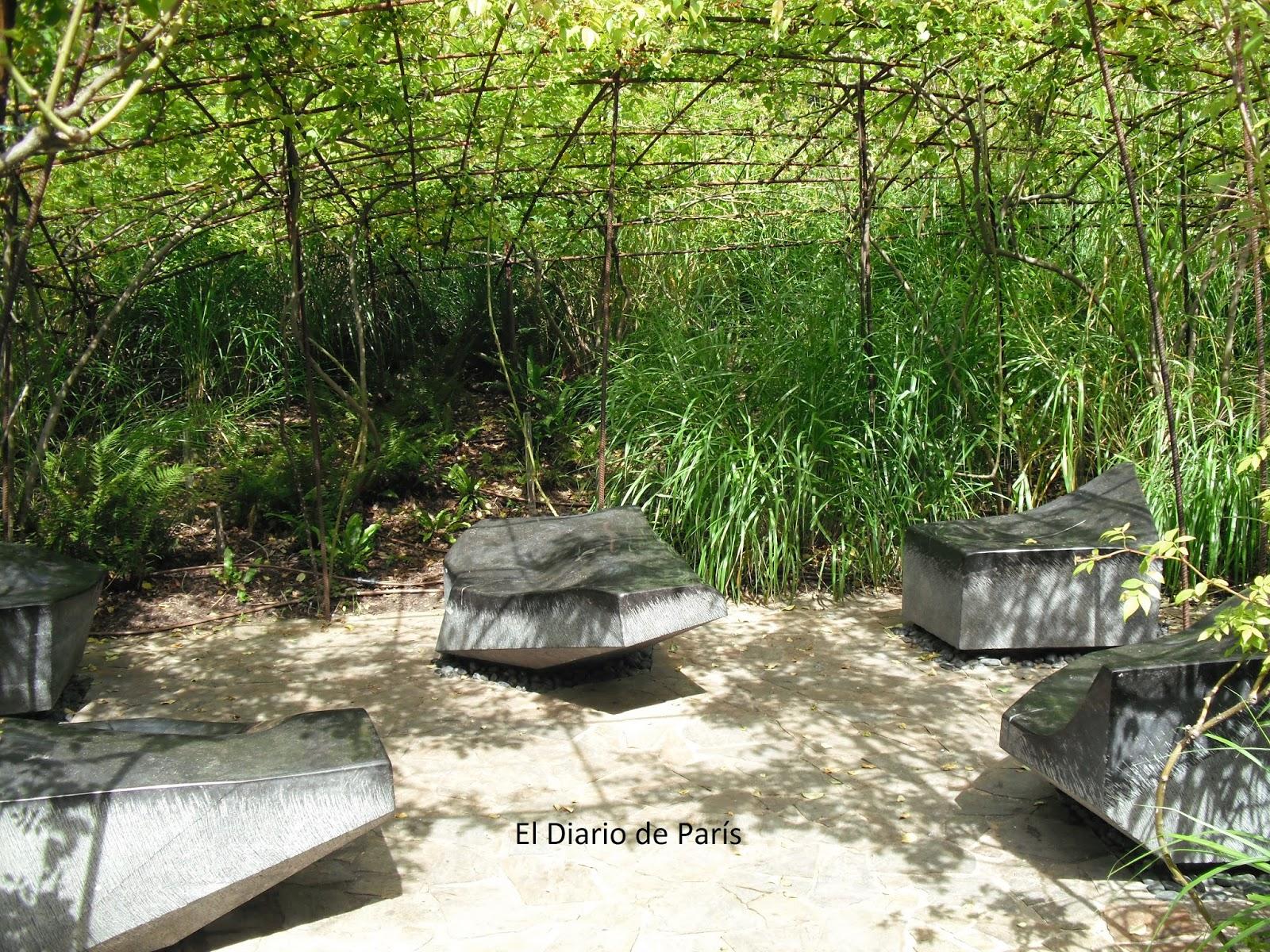 El diario de par s museo del quai branly for Jardin quai branly