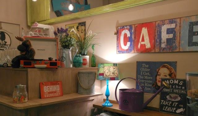 Cafetería con encanto en Pozuelo