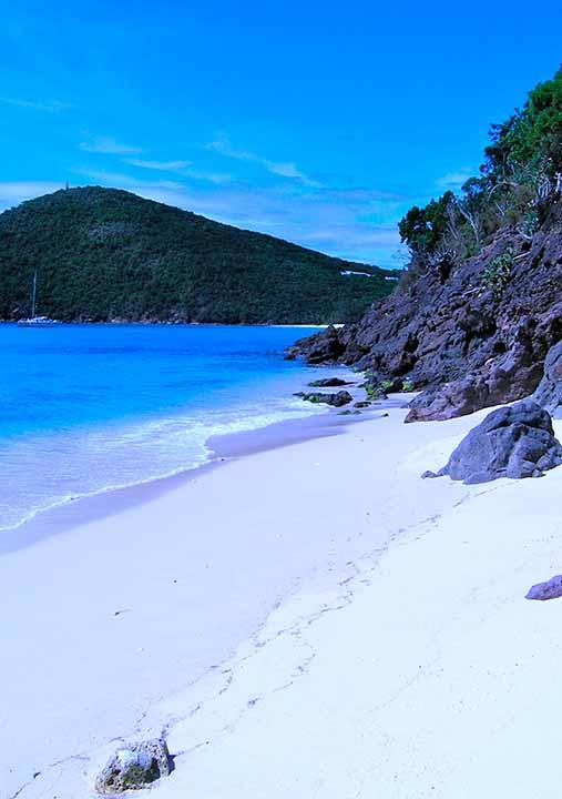 Guana Island, Caribbean: