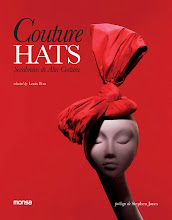 "My Hats In ""Couture Hats"" Book By Louis Bou."