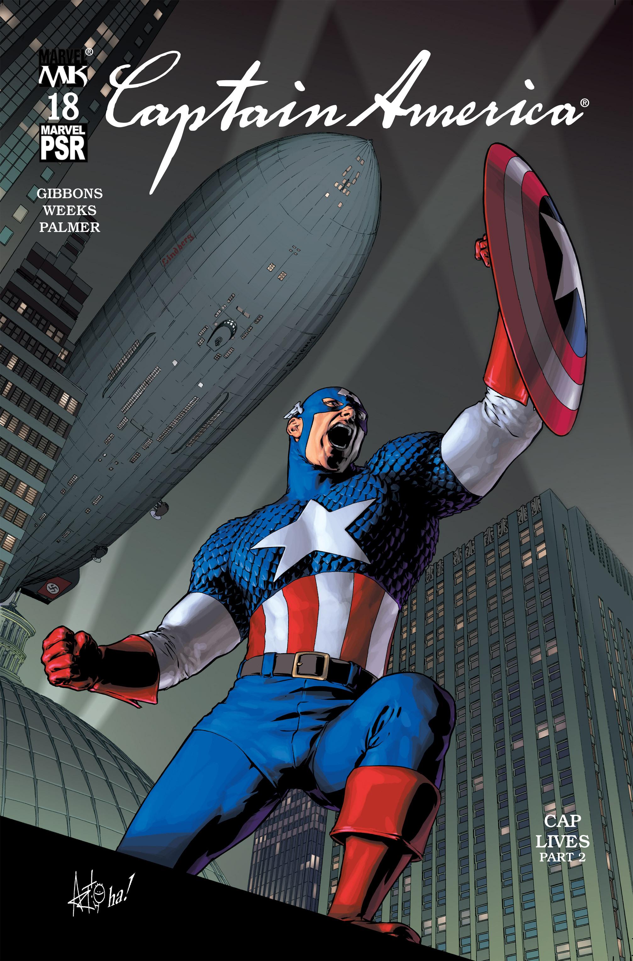 Captain America (2002) Issue #18 #19 - English 1