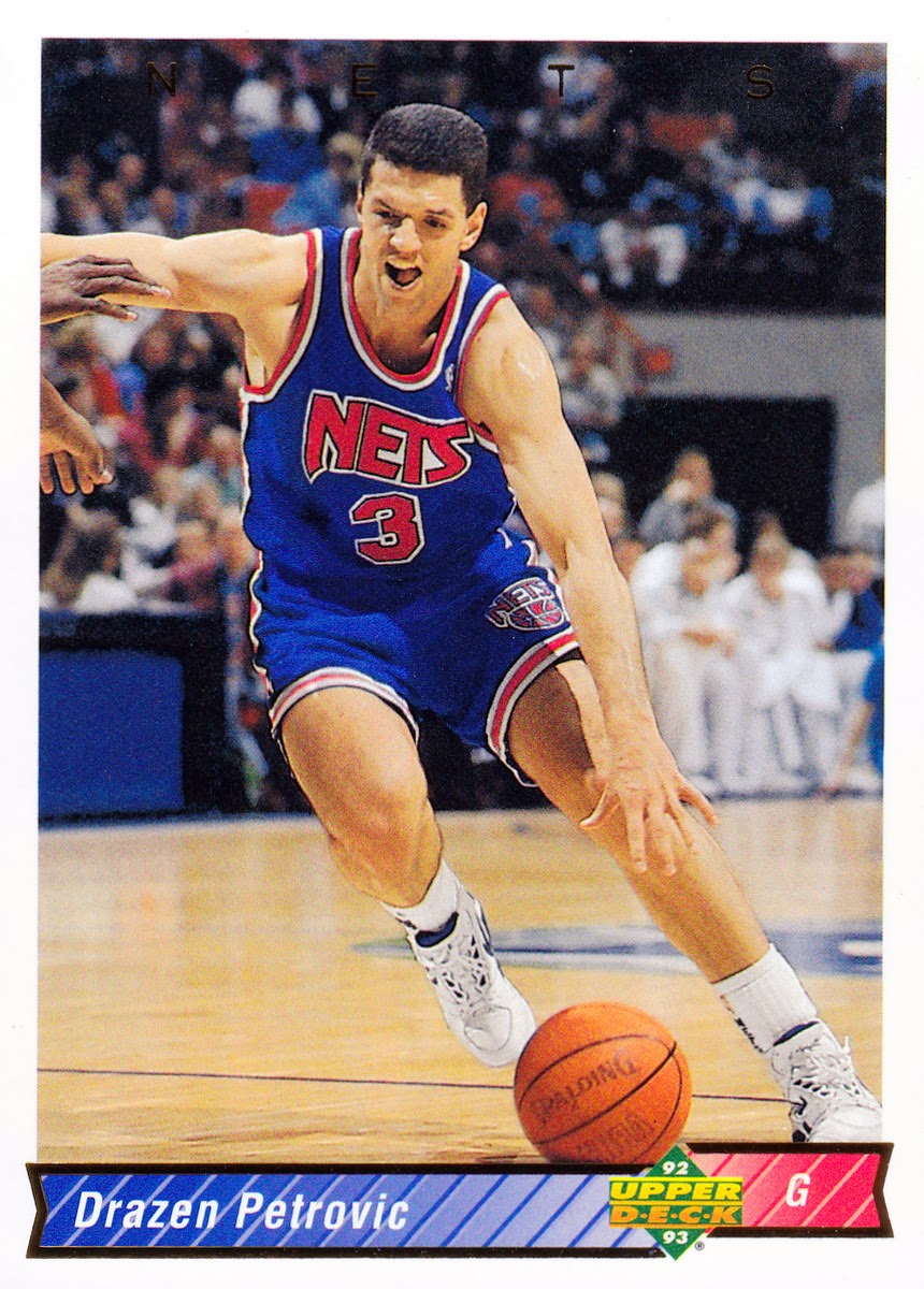 Baseline Leaner Card of the Week Drazen Petrovic and Reggie Lewis