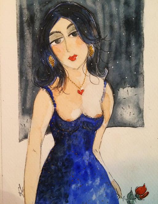 Autoportrait à la rose ou acrostiche