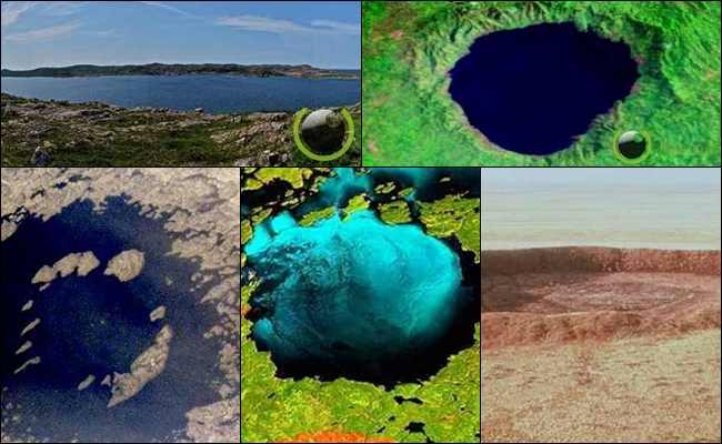 10 Benturan Dahsyat Bumi dengan benda Luar Angkasa