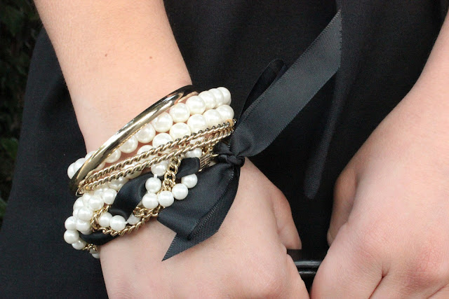 Black and Gold Arm Party