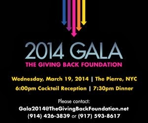 2014 Gala The Giving Back Foundation