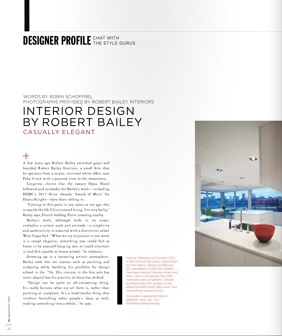 Robert bailey interiors june 2014 for Interior designs by ria
