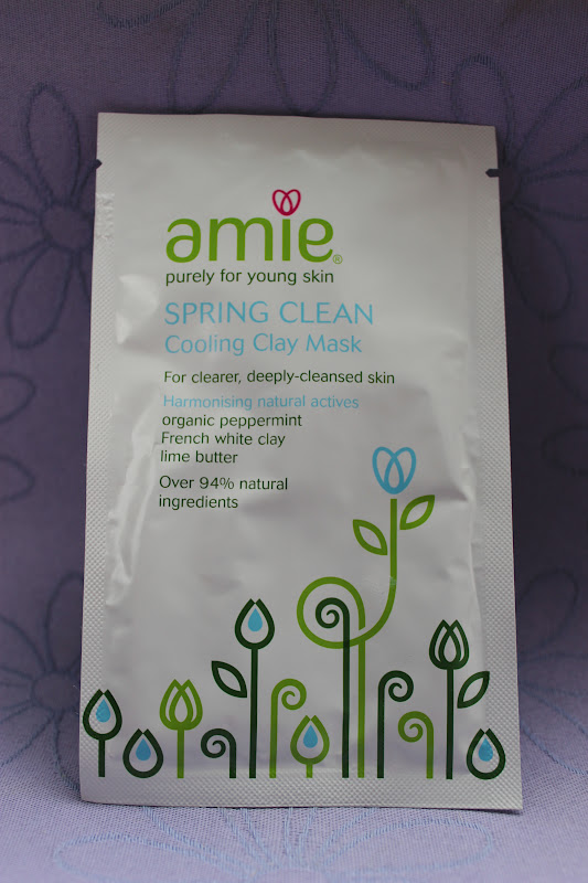 Amie Spring Clean Cooling Clay Mask Review*