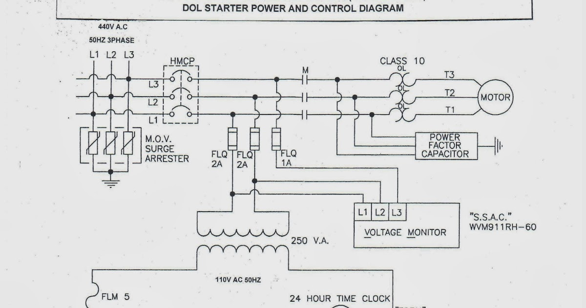 Nice Dol Starter Circuit Diagram Mold - Everything You Need to Know ...