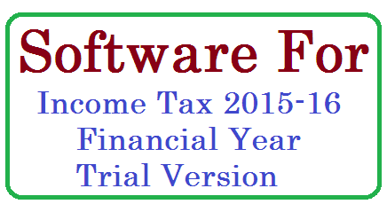 Income Tax 2015-16 Financial year | Income Tax Software for 2015-16 Financial Year By GHM Vijay Kumar www.medakbadi.in | In this software First   Half D.A(from Jan 2015) Second half  DA (from July 2015)  and credited to GPF months  are taken approximately. hence there can flexibility to change DA values & credited to GPF months after DA GO's released  in IT data sheet. ap-ts-income-tax-software-trial-version-for-2015-16-financial-year