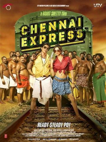 SRK Deepika Rohit in Chennai Express Poster.jpg