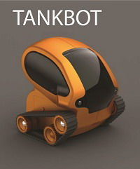 Tankbot - a robotic tank controllable with iPhone / iPad
