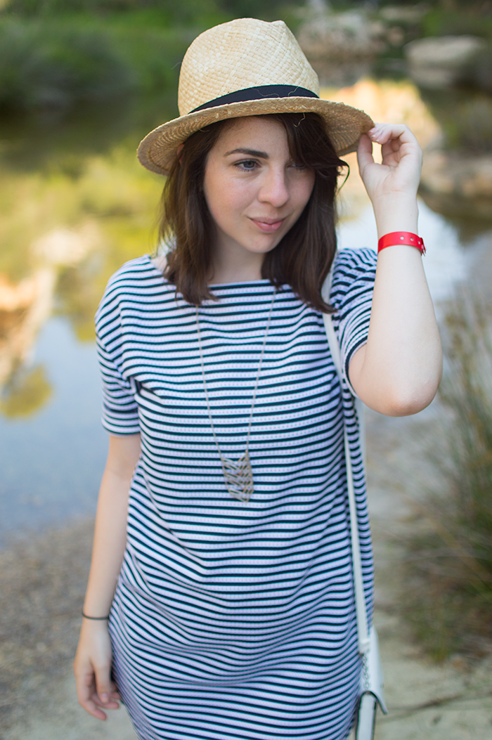STYLE: HOW TO WEAR STRIPED T-SHIRT DRESS