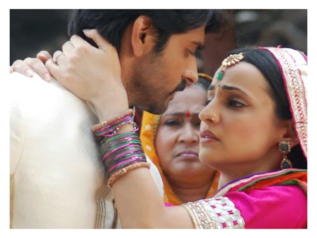 Rudra and Paro in Rangrasiya