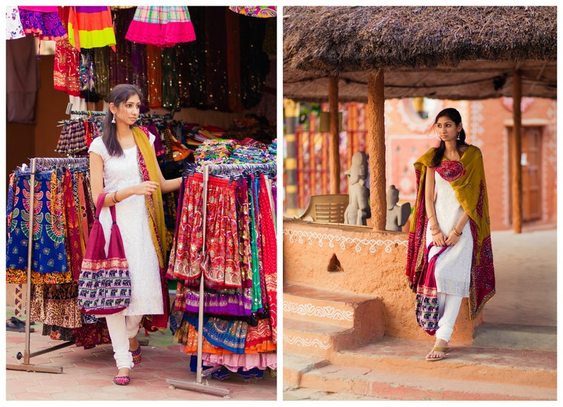 top indian fashion blog, traditional wear indian fashion blog, white churidar bandhani indian fashion blog