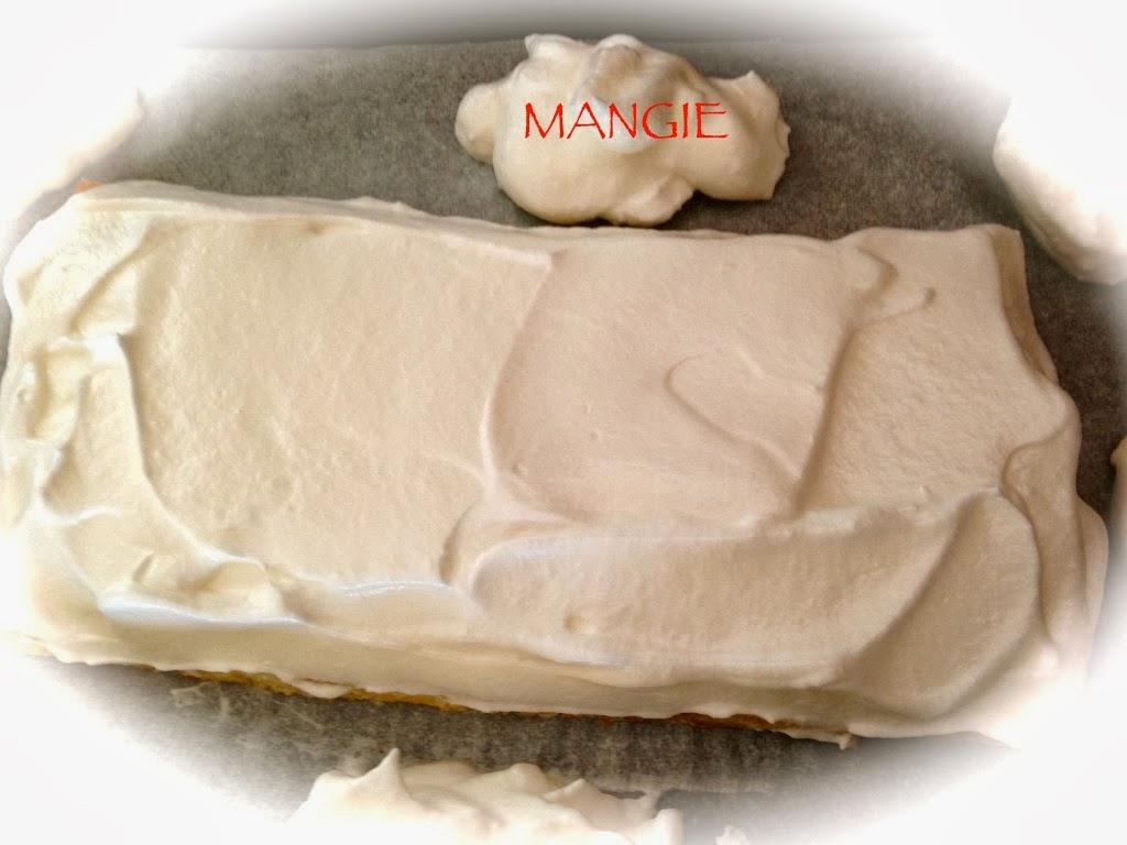 Capa cubierta de merengue