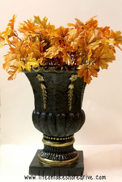 DIY Fall Decor Pumpkin Topiary Tutorial, How to make a pumpkin topiary     Life on Lakeshore Drive