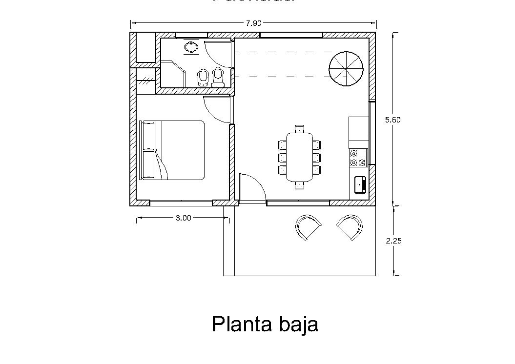 Arquitectura y dise o planos - Casas en planta baja ...