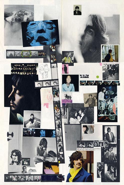 Nas fotos do encarte do disco, muitos indícios. Numa foto de Paul ...
