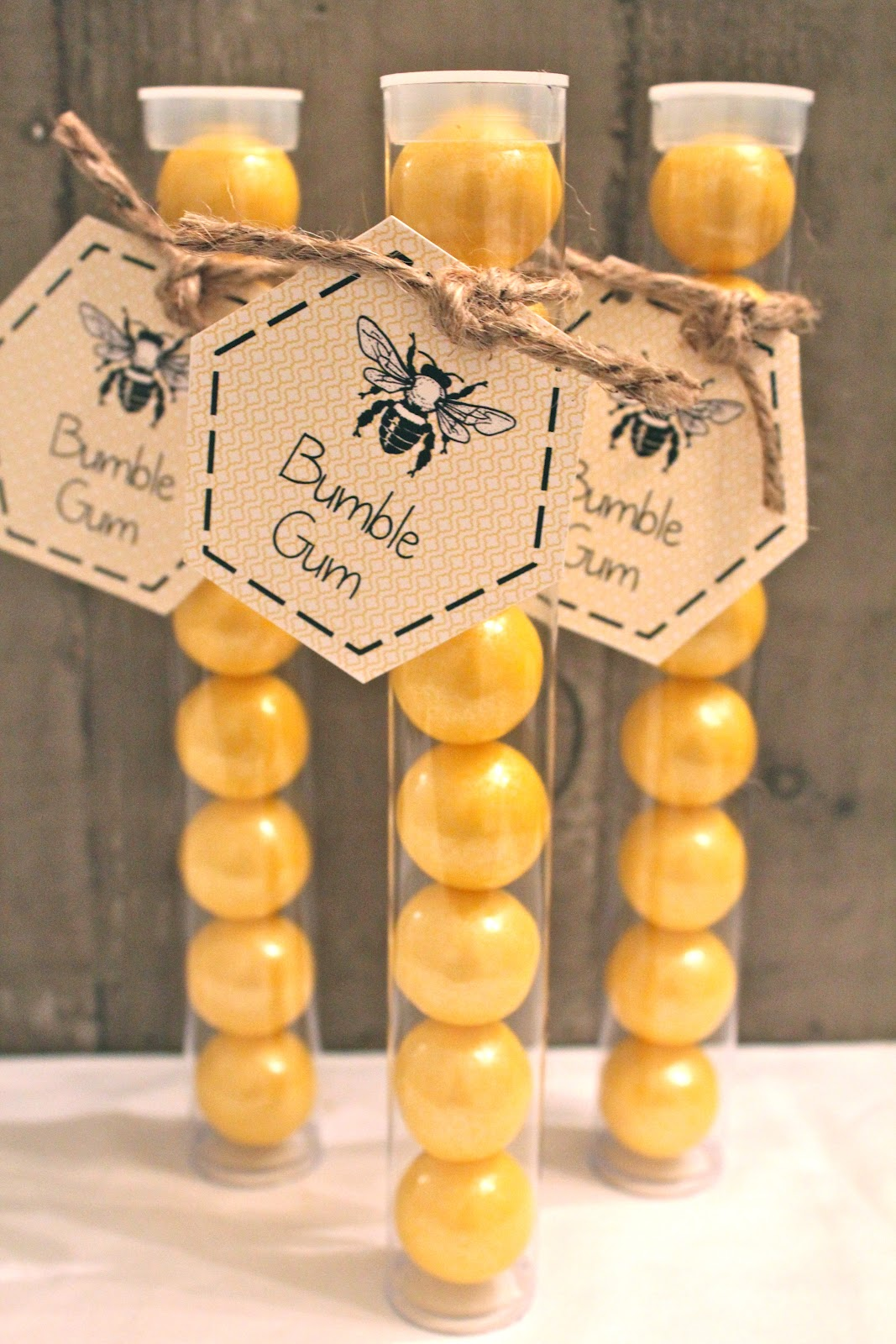 Baby Shower Is Also Available In This Design As Are Fully Assembled Bumble Gum Favors