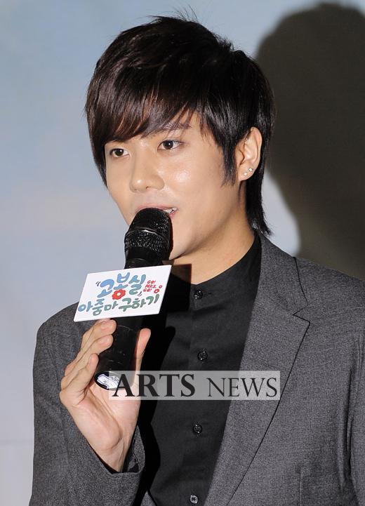 """[DRAMA] 23/08/2011 - Kim KyuJong @ """"Saving Mrs. Go BongShil"""" 2"""