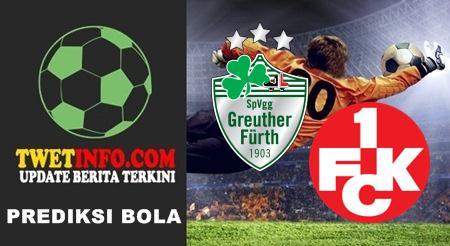 Prediksi Greuther Furth vs Kaiserslautern