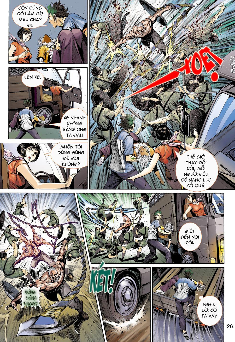 Thần Binh 4 chap 16 - Trang 26
